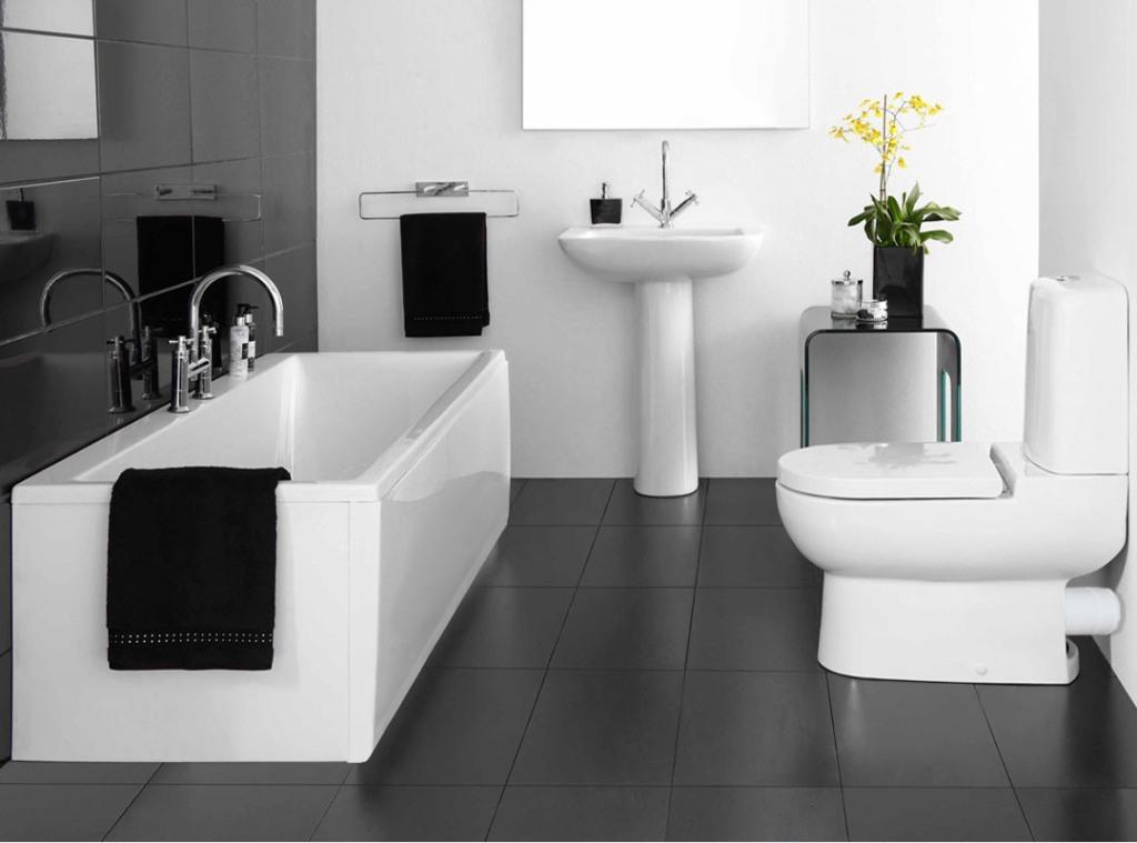 Modern White Bathroom Ideas