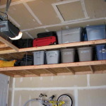 Overhead Shelving Ideas for Garage