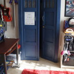 Tardis Bedroom Door