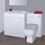 White Bathroom Vanity Units