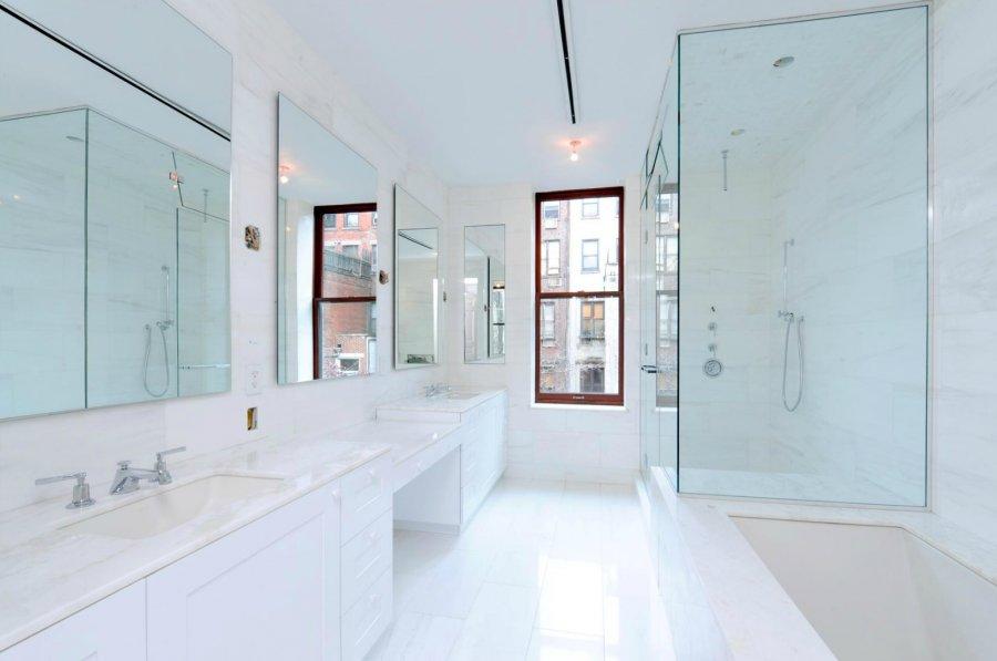 White Marble Bathroom Ideas