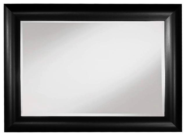 Black Framed Wall Mirror