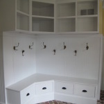 Corner Mudroom Bench