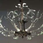 Crystal Antler Chandelier