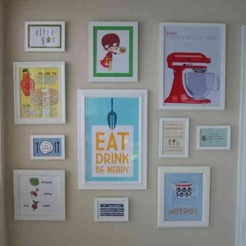 DIY Kitchen Wall Decor