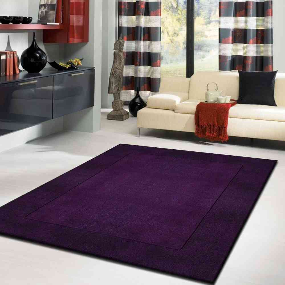 Dark Purple Area Rug Decor Ideasdecor Ideas