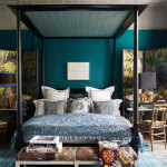Dark Teal Bedroom Ideas