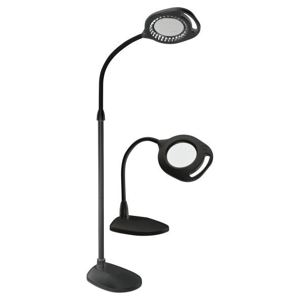 Dazor Magnifying Floor Lamp with Light