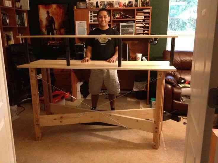Homemade Standing Desk Decor Ideasdecor Ideas