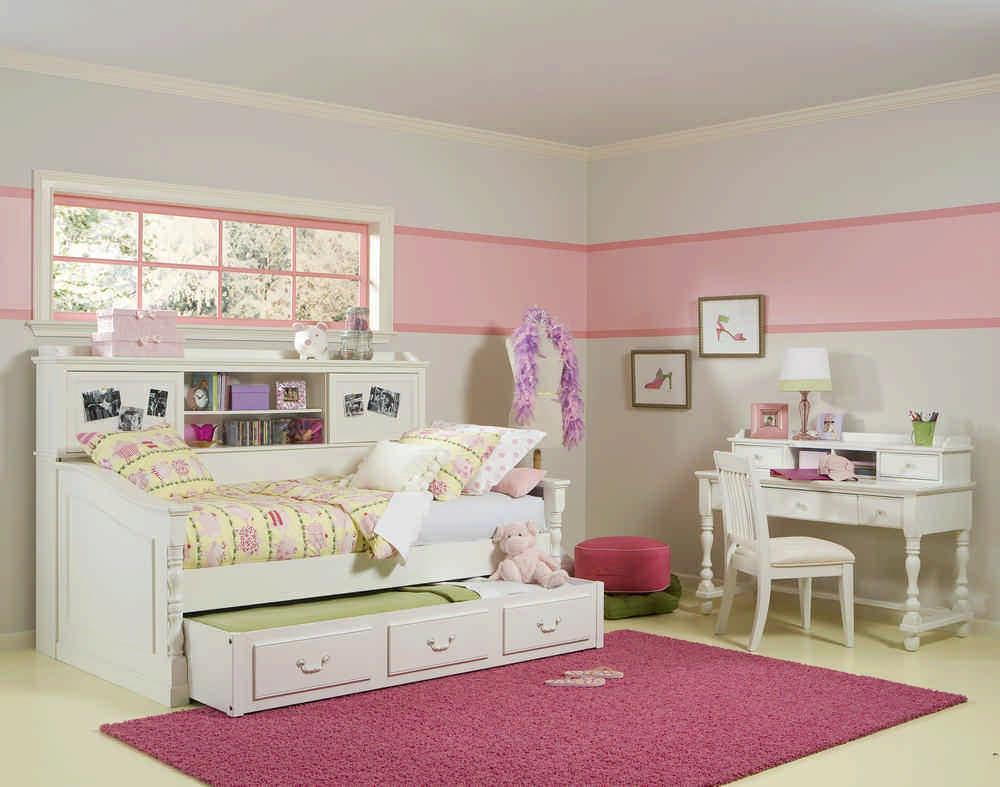 kids white bedroom set - decor ideas