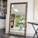 Large Framed Wall Mirrors