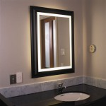 Lighted Bathroom Wall Mirror