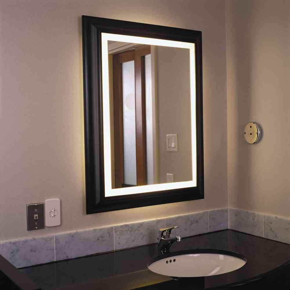 Lighted Bathroom Wall Mirror Decor Ideasdecor Ideas