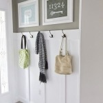 Mudroom Bench with Hooks