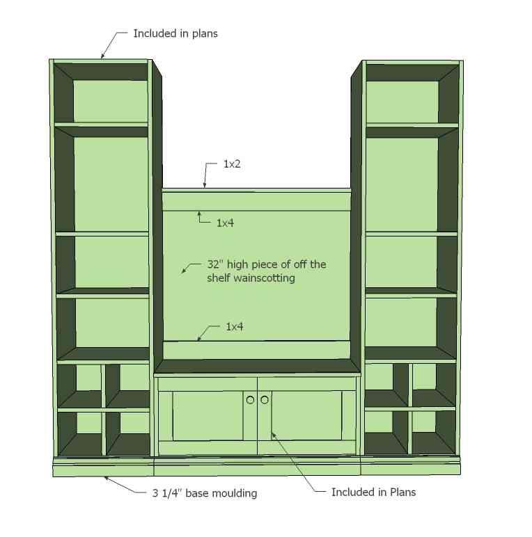 Mudroom Furniture Plans