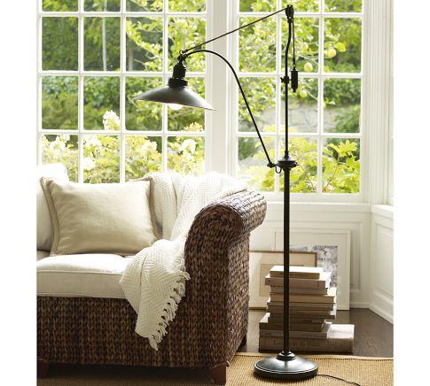 Pulley Task Floor Lamps