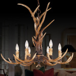 Resin Antler Chandelier