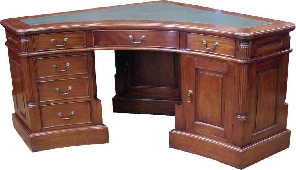 Solid oak corner desks for home office decor ideasdecor - Corner desks for home ...