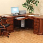Solid Wood Corner Desk for Home