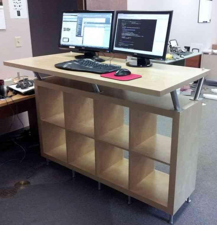 Standing Computer Desk Ikea Decor Ideasdecor Ideas