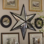 Star Mirror Wall Decor