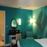 Teal Bedroom Wallpaper