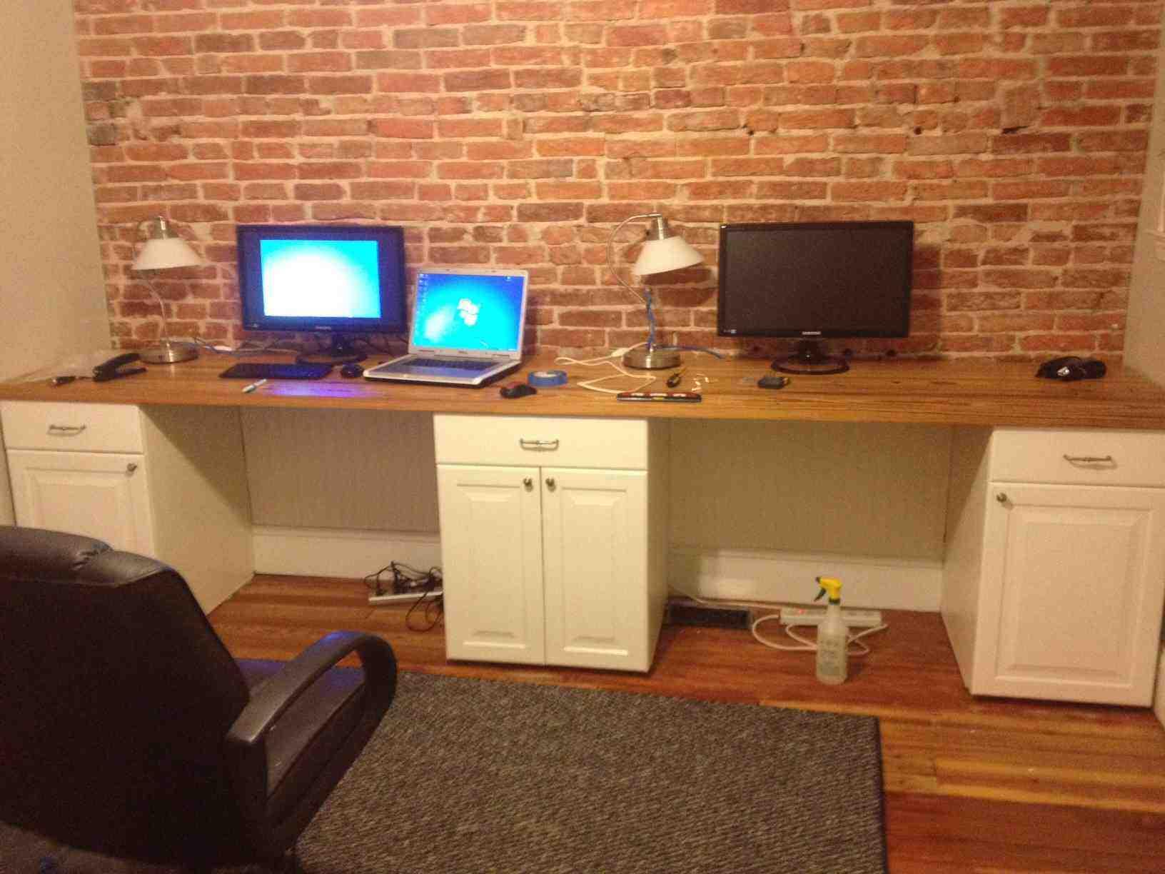 Two Person Corner Desk Decor Ideasdecor Ideas