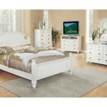 White Full Bedroom Set