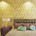 Yellow Bedroom Wallpaper