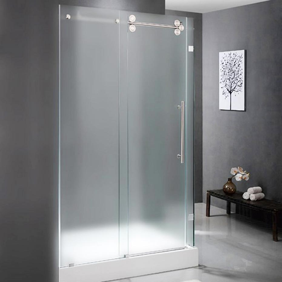 Aqua Glass Shower Doors Decor Ideasdecor Ideas