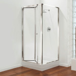 Bi Fold Glass Shower Doors