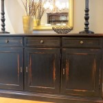 Black Buffet Cabinet