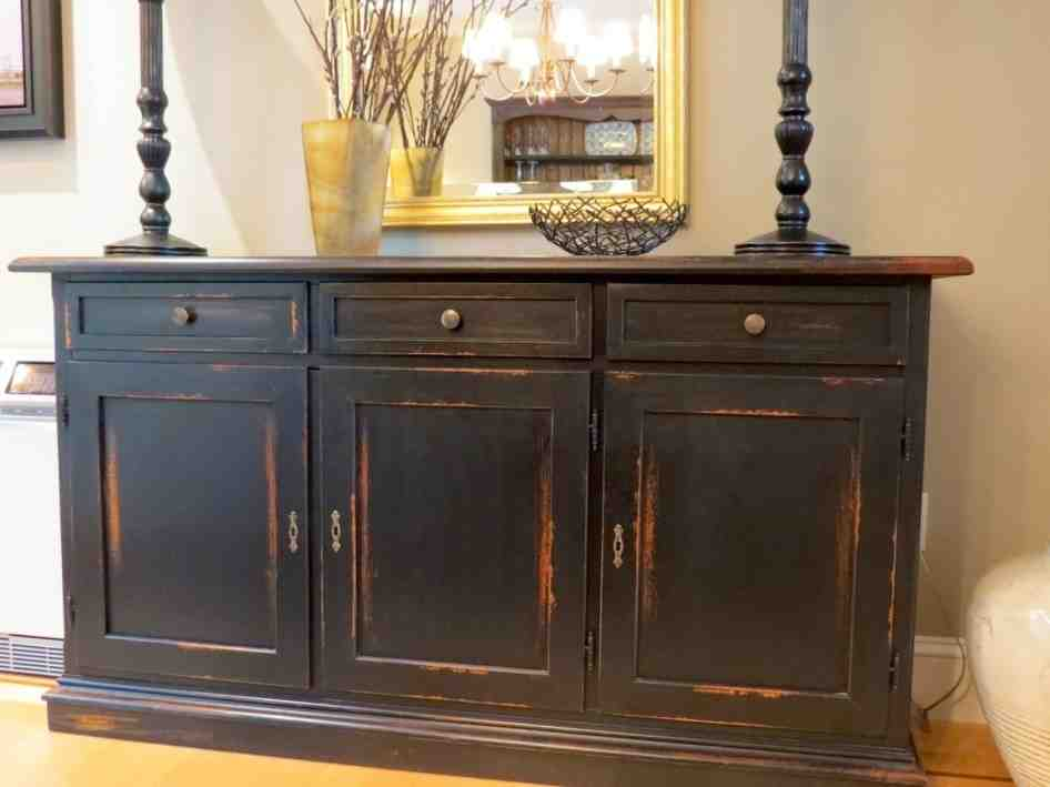 Black Buffet Cabinet Decor Ideasdecor Ideas