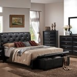 Black Leather Bedroom Furniture