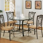 Black Metal Dining Room Chairs