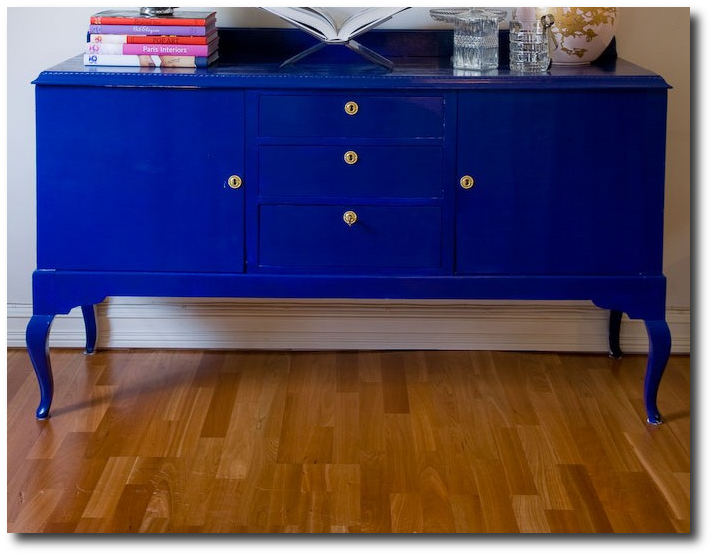 Blue Sideboard
