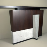 Contemporary Entryway Table
