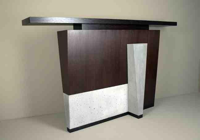 Contemporary Entryway Table