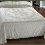 Cotton Chenille Bedspread King Size