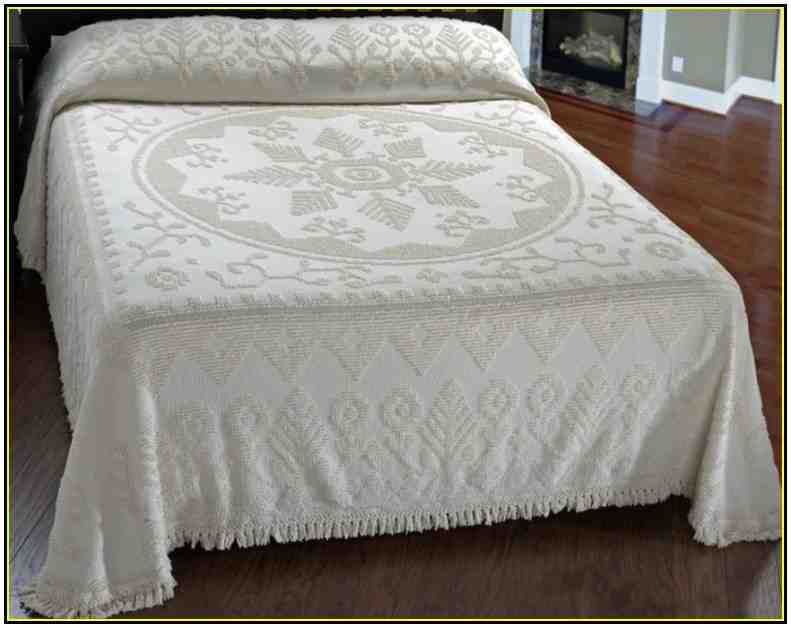 Cotton Chenille Bedspread King Size Decor Ideasdecor Ideas