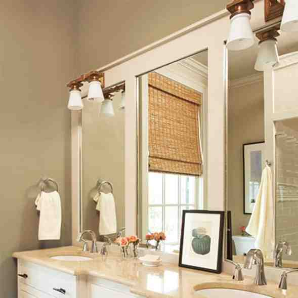 bathroom mirror ideas diy diy bathroom mirror frame ideas decor ideasdecor ideas 15970