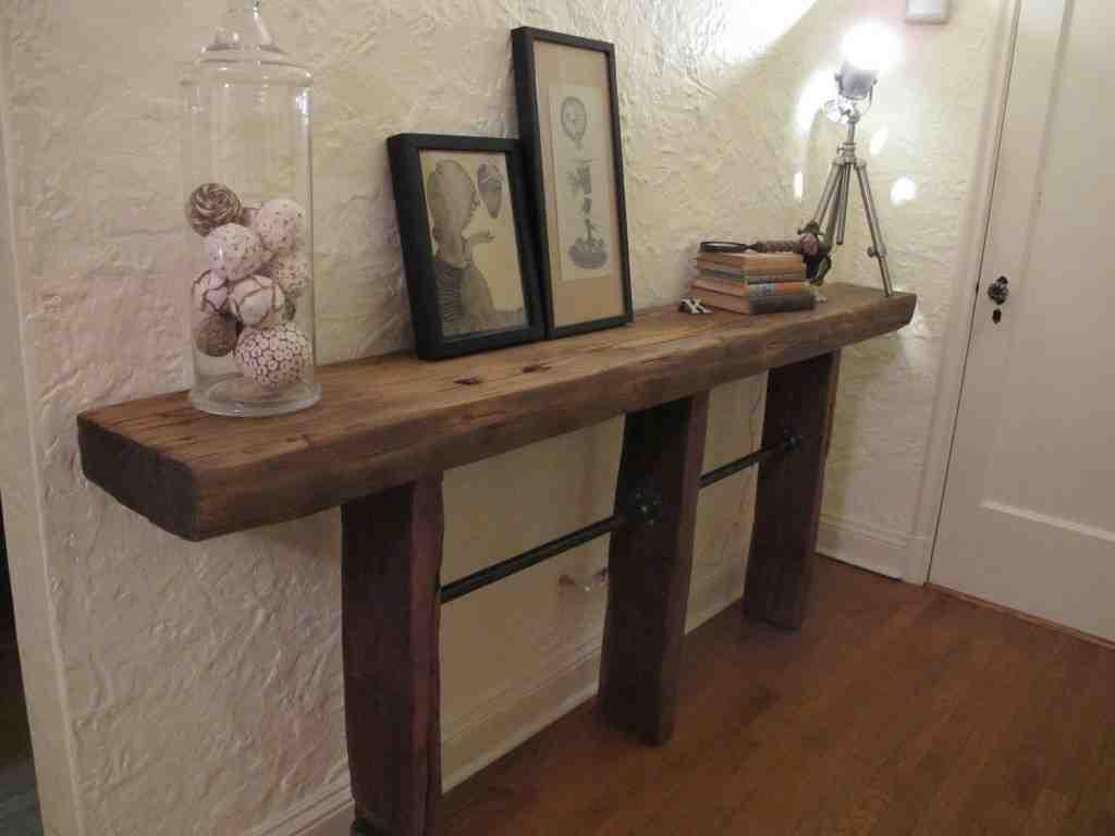 DIY Entryway Table