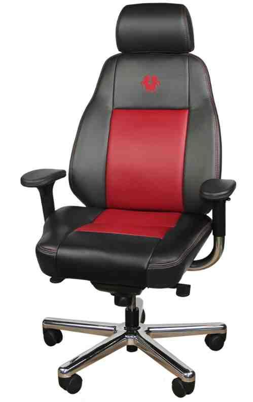 Ergonomic Leather Office Chair