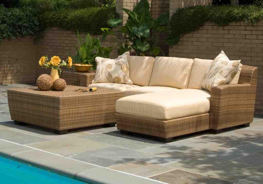 Faux Wicker Outdoor Furniture