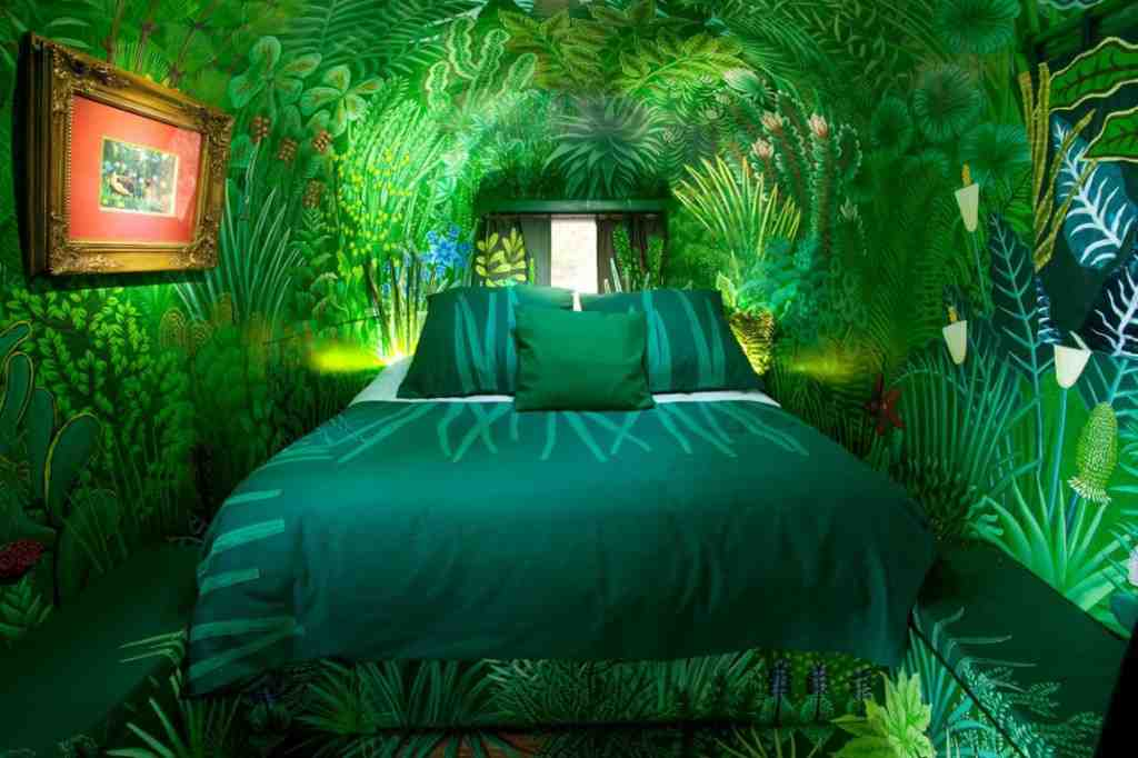 Forest Green Bedroom