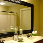 Frame Around Bathroom Mirror