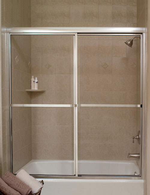 Framed Glass Shower Door