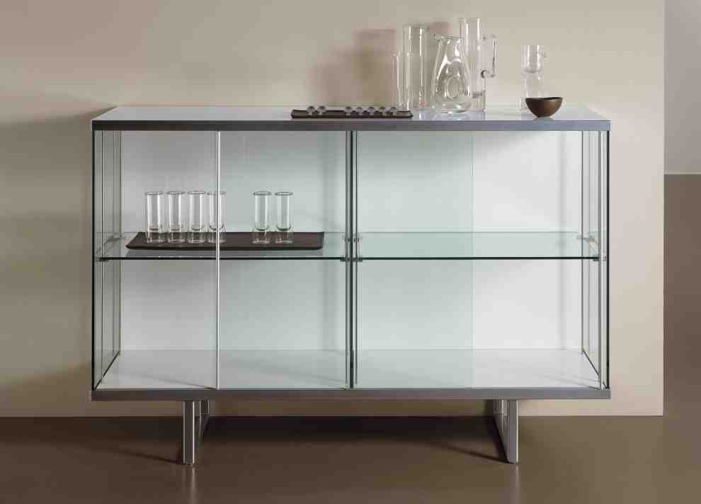 Glass Sideboard