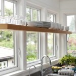 Kitchen Window Shelves