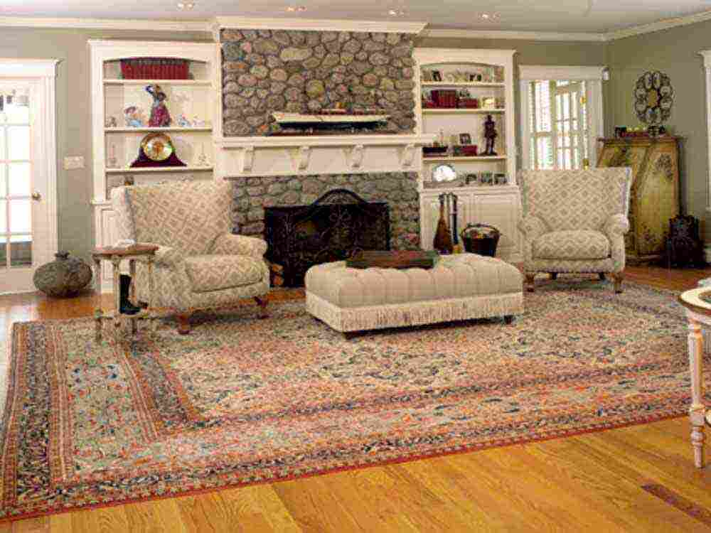 Persian Carpet Idea For Living Room